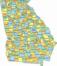 Image result for map of georgia counties