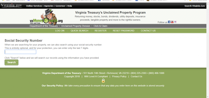 Virginia Unclaimed Money (2019 Guide)