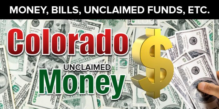 Colorado Unclaimed Money and Property