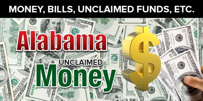 Alabama Unclaimed Money