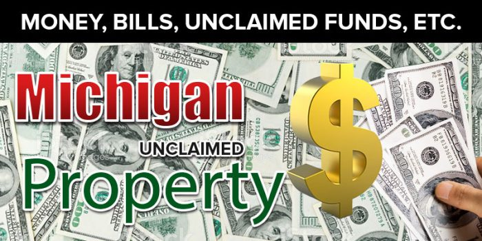 michigan unclaimed property