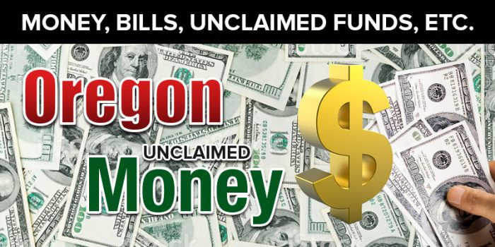 oregon unclaimed money