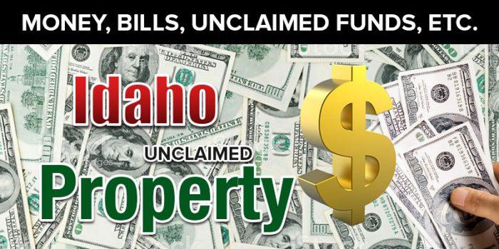 idaho unclaimed property