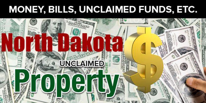 north dakota unclaimed property