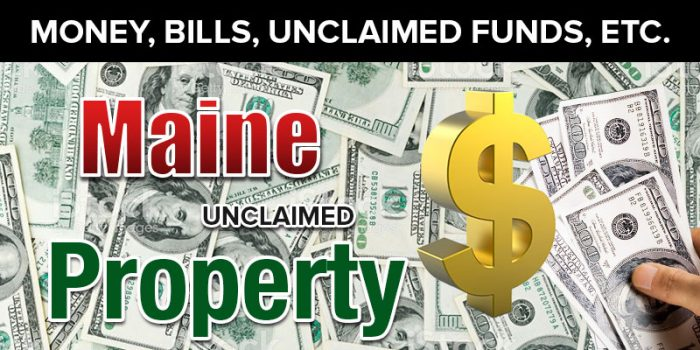 maine unclaimed property