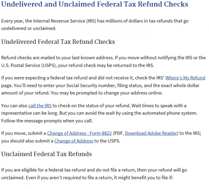 Wheres my IRS Refund!  6 Steps to Take if You Dont