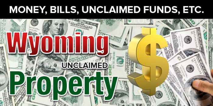 wyoming unclaimed property